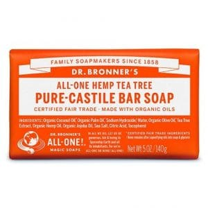 Dr Bronner's - Pure-Castile Bar Soap Tea Tree, 140 gr-0
