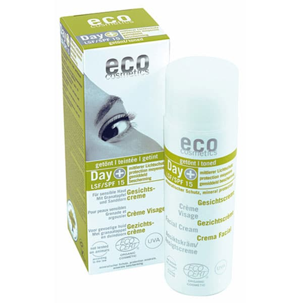 Eco Cosmetics - Dagkräm tonad SPF 15, 50 ml-0
