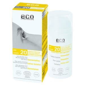Eco Cosmetics - Ekologisk Sollotion SPF 20, 100 ml-0