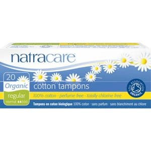 Natracare - Ekologisk tampong Regular, 20-pack-0