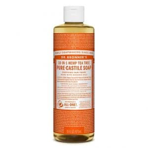 Dr Bronner's - Pure-Castile Liquid Soap Tea Tree, 475 ml-0
