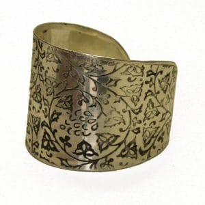 Smycken - Fair Trade Ivy Vine Cuff-4978