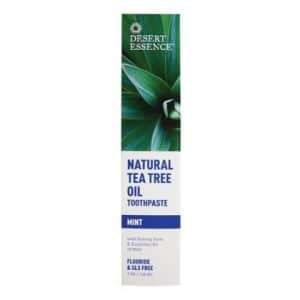 Desert Essence - Toothpaste Tea Tree Oil Mint-0