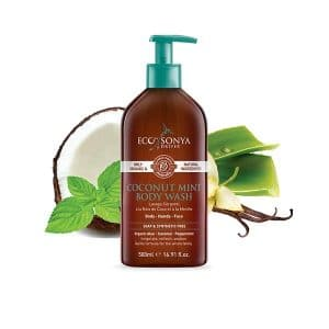 Eco By Sonya - Body Wash Coconut & Mint , 375 ml-0