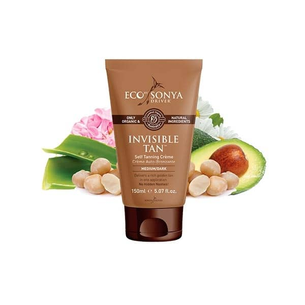Eco By Sonya - Invisible Tan Self Tanning Créme, 150 ml-0