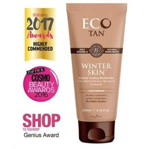 Eco By Sonya - Winter Skin Gradual Tanning Moisturiser, 200 ml-9964