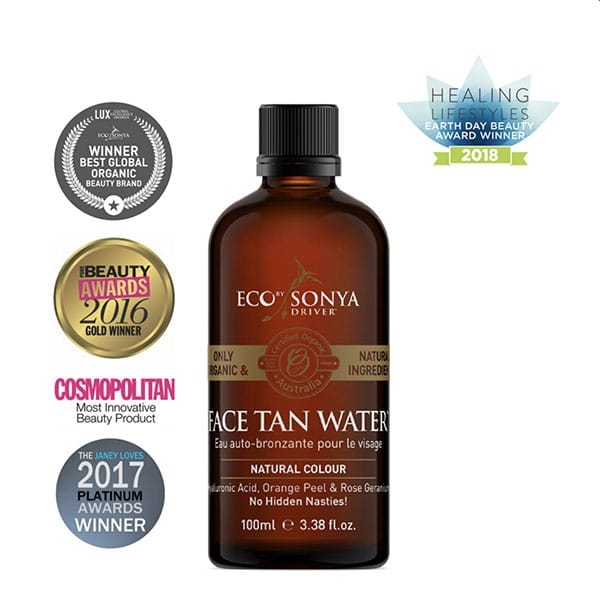 Eco By Sonya - Face Tan Water, 100 ml-11424