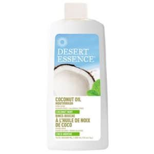 Desert Essence - Mouthwash Coconut Oil & Mint, 480 ml-0