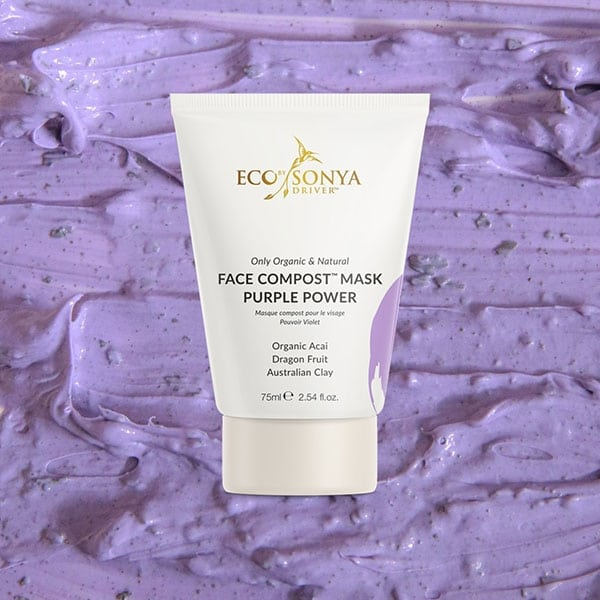 Eco By Sonya - Face Compost™ Purple Power Mask, 75 ml-11616