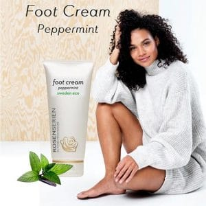 Rosenserien - Foot Cream Peppermint, 100 ml-10145