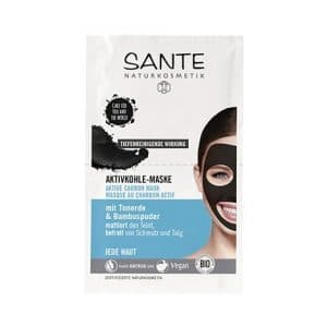 Sante - Active Carbon Mask, 2x4 ml-0