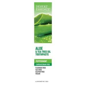 Desert Essence - Aloe and Tea Tree Oil Toothpaste, 176 gr-10452