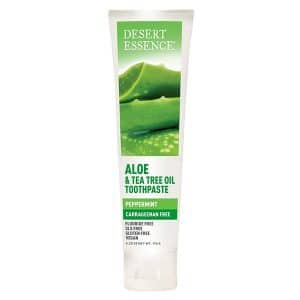 Desert Essence - Aloe and Tea Tree Oil Toothpaste, 176 gr-0
